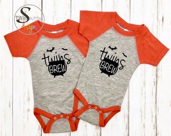TWINS BREW Halloween Bodysuit