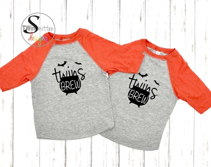 TWINS BREW Halloween Toddler Shirts