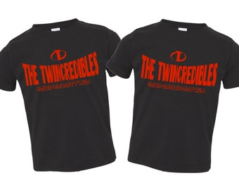 The Twincredibles Shirt or Bodysuit