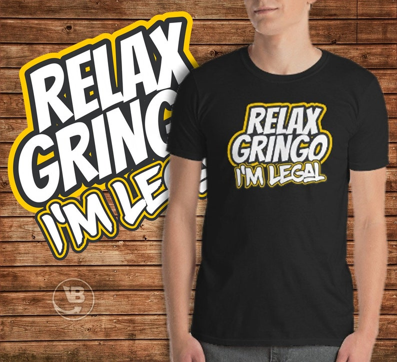 Comical Shirt Mens Relax Gringo Im Legal Tank Top