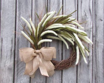 Summer Wreath-Fall Wreath-Winter Wreath-Rustic Wreath-Farmhouse Wreath-Home Decor-Housewarming Gift-Front Door Wreath