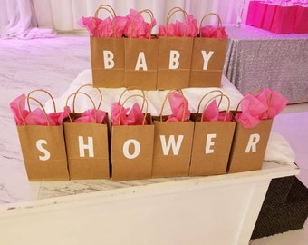 Baby shower decoration or gift bags