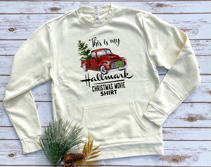 Christmas Movie Shirt, Women's Christmas Graphic Long Sleeve,