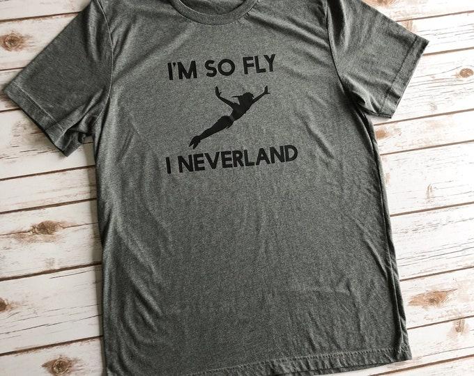 So Fly I Never Land, Disney Shirts, Disney Shirts for Family, Disney Shirts For Men, Disney Vacation Tops, Funny Disney Shirt, Disney Vacay