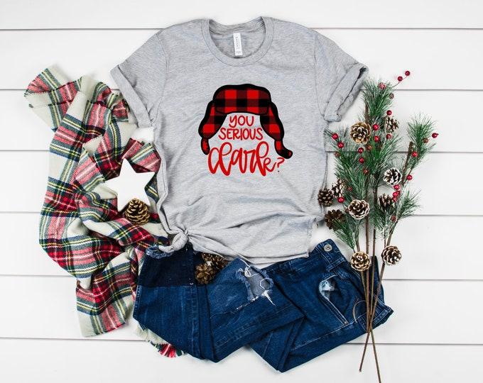 You Serious Clark, Christmas Shirts, Christmas Shirts For Women, Christmas Vacation, Funny Christmas Shirt, Christmas Tshirt, Graphic Tee