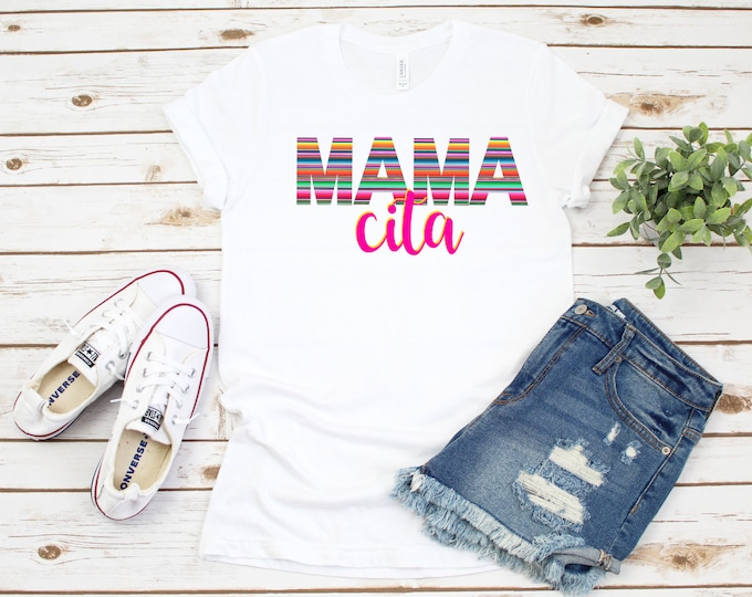 Mamacita Tshirt, Cinco De Mayo Tank, Womens Mamacita Graphic Tshirt