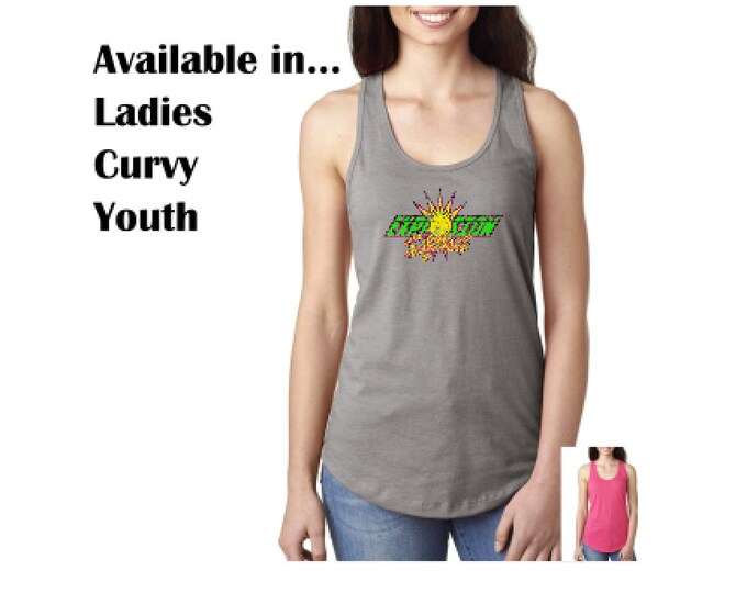 Ladies, Curvy and Youth Tanks - 2 color options