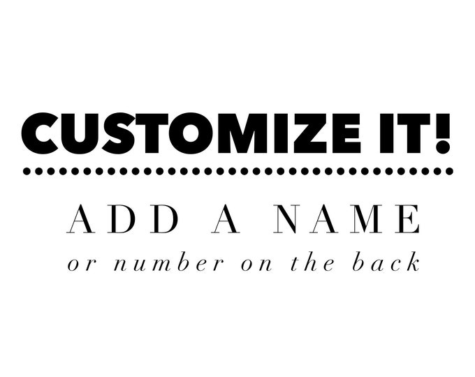 Customize your shirt