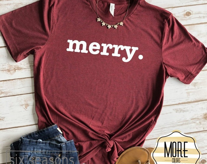 Merry, Christmas Shirts, Christmas Shirts, Christmas Shirts For Women, Christmas Tshirt, Graphic Tee