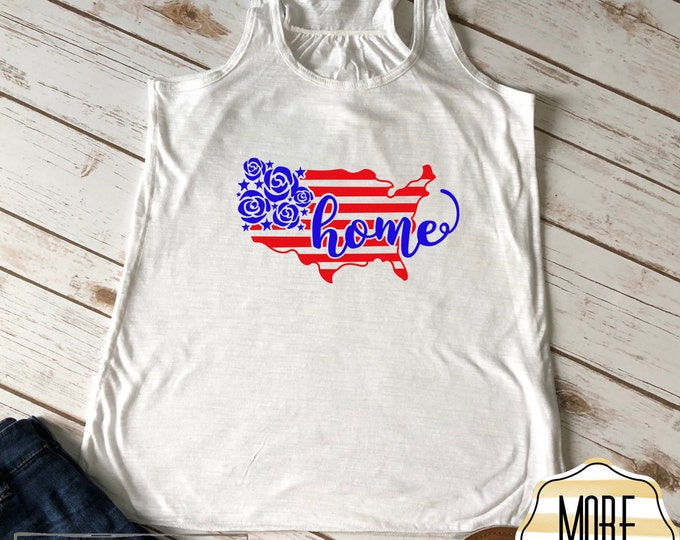 4th of July Shirt Women. 4th of July Shirts. 4th of July Tank Tops. USA Clothing. American Flag Clothing. America Tank Top. America Shirt.