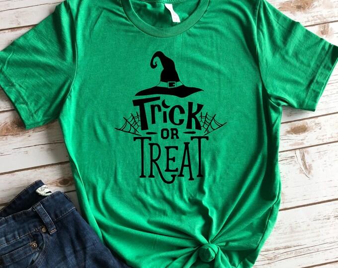 Trick Or Treat Halloween shirt for Women