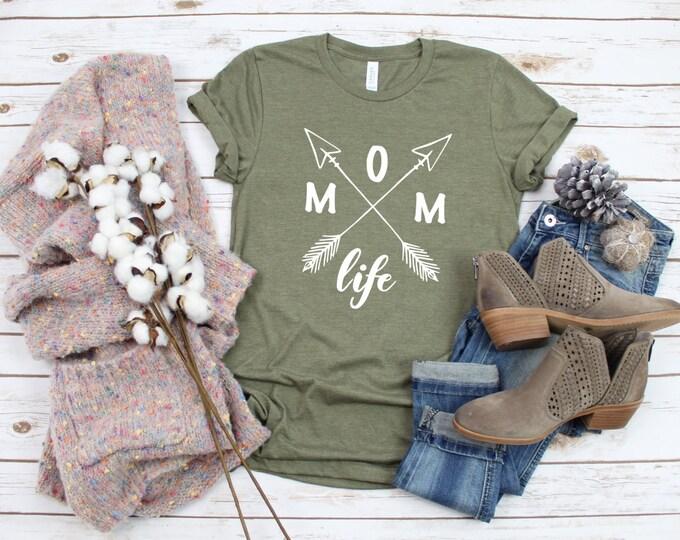 Momlife Shirt, Shirts For Mom, Unisex Bella Canvas Tshirt