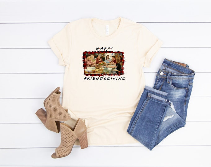 Friendsgiving, Friends TV Show Tshirt, Friends Thanksgiving shirt, Womens Graphic Tee