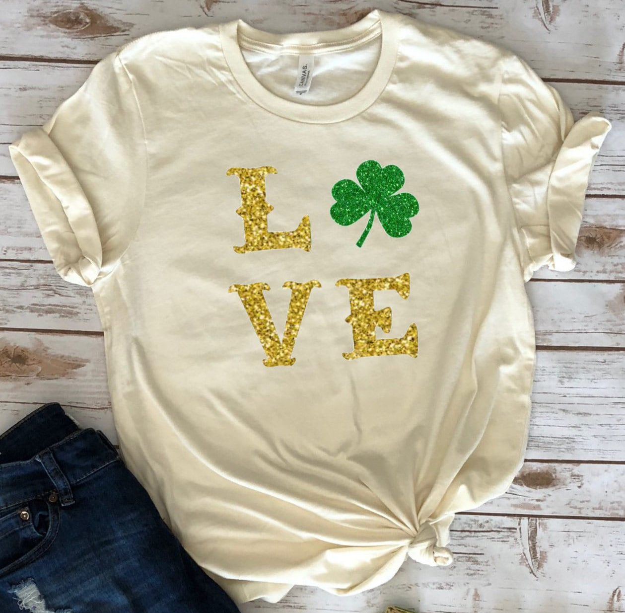 be6660a39ddf St Patricks Day Glitter tshirt, Womens St Patricks Day Tshirt , Womens St  Pattys Day Shirt, St Packtricks Day shirt Women, Shamrock Shirt