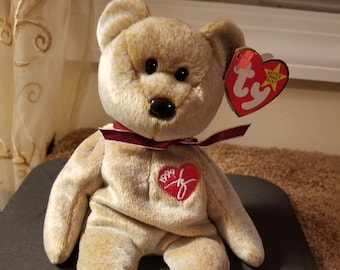 389a6544e8d TY Beanie Babies 1999 Signature Teddy Bear  Retired 1999 Vintage