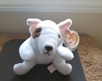 387994637f4 TY Beanie Babies Butch the Brown and White Pit Bull Terrier  Retired 1999   Vintage