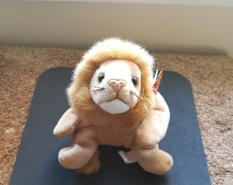 TY Beanie Babies Roary the Lion /Retired 1998 /Vintage