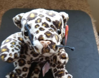 9e61c17bfc1 TY Beanie Babies Freckles the Brown White Gold Leopard Cat Retired 1998  Vintage Rare Sold