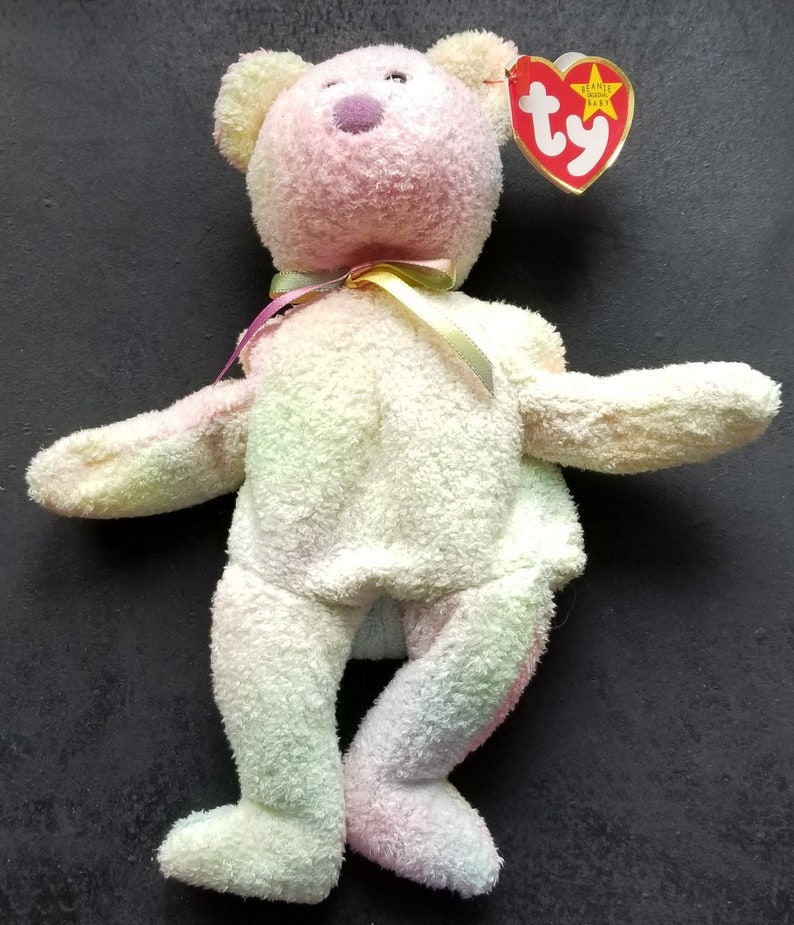 db2f1aefe7a TY Beanie Babies Groovy Bear  Retired 1999  Vintage  Sold