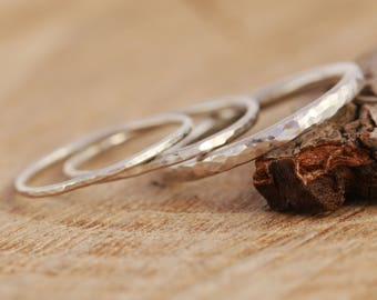 Sterling Silver Minimalist Ring, Silver Midi Ring, Silver Stacking Ring, Silver Minimalist Ring, Minimalist Ring, Textured Ring, Silver Ring