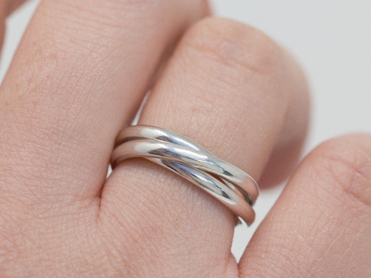 Sterling Silver Russian Wedding Band Ring|Sterling Silver Russian ...
