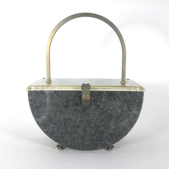 Art Deco Lucite Handbag