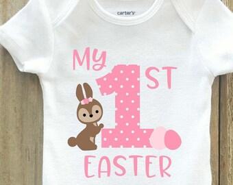 Girls My first easter shirt, easter shirt, girls easter shirt, first easter, 1st easter shirt, girls first easter shirt, girls easter outfit