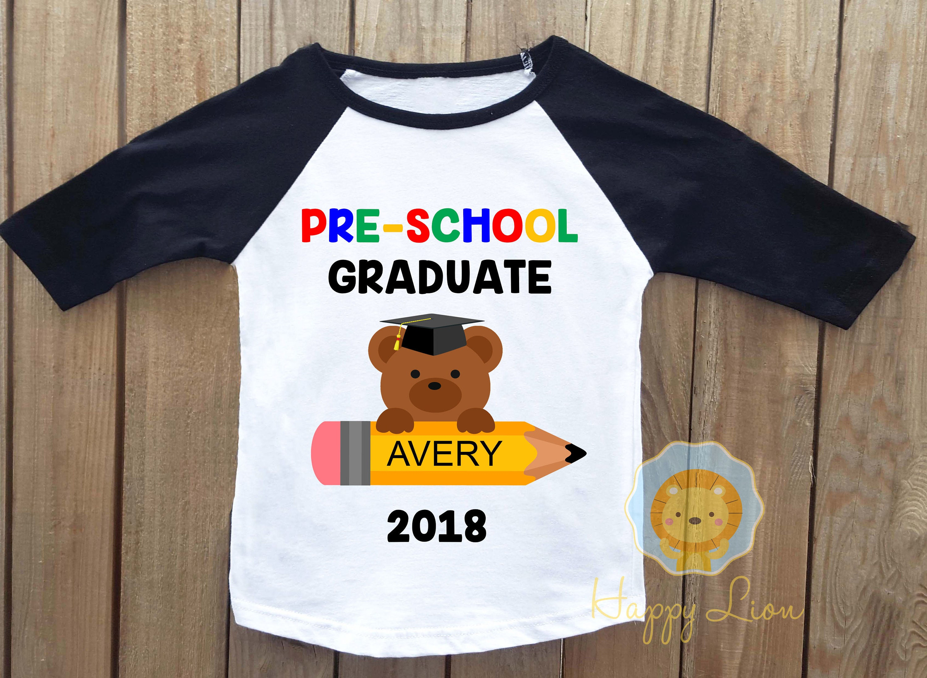 Preschool graduation shirt preschool grad pre-k graduation