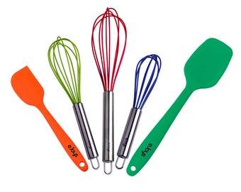 Silicone Kitchen Utensils, Silicone Whisks, Silicone Spatulas, Cooking Set