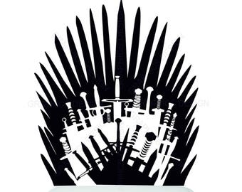 Iron Throne Toilet Etsy