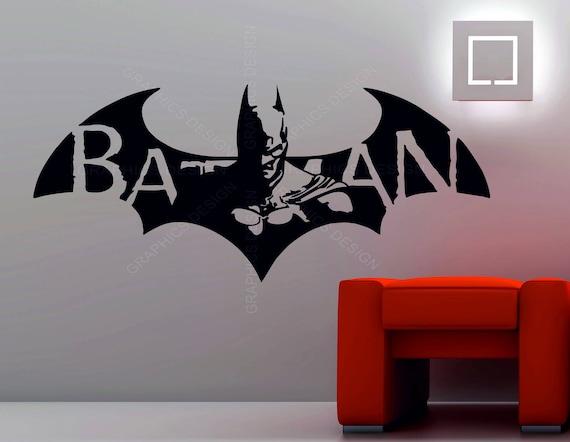 Batman Superhero Car Stickers Window Laptop Wall Room Vinyl Bumper Sticker Decal