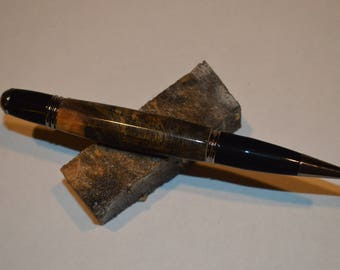 Beautiful Buckeye Burl Gatsby Style Pen