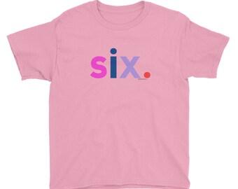 6th Birthday Shirts For Girls 6