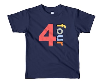 4th Birthday Shirts For Boys 4