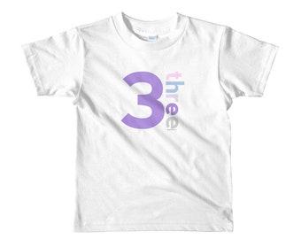 3rd Birthday Shirts For Girls 3