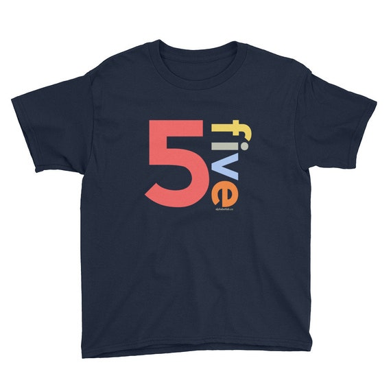 5th Birthday Shirts For Boys 5 Gifts