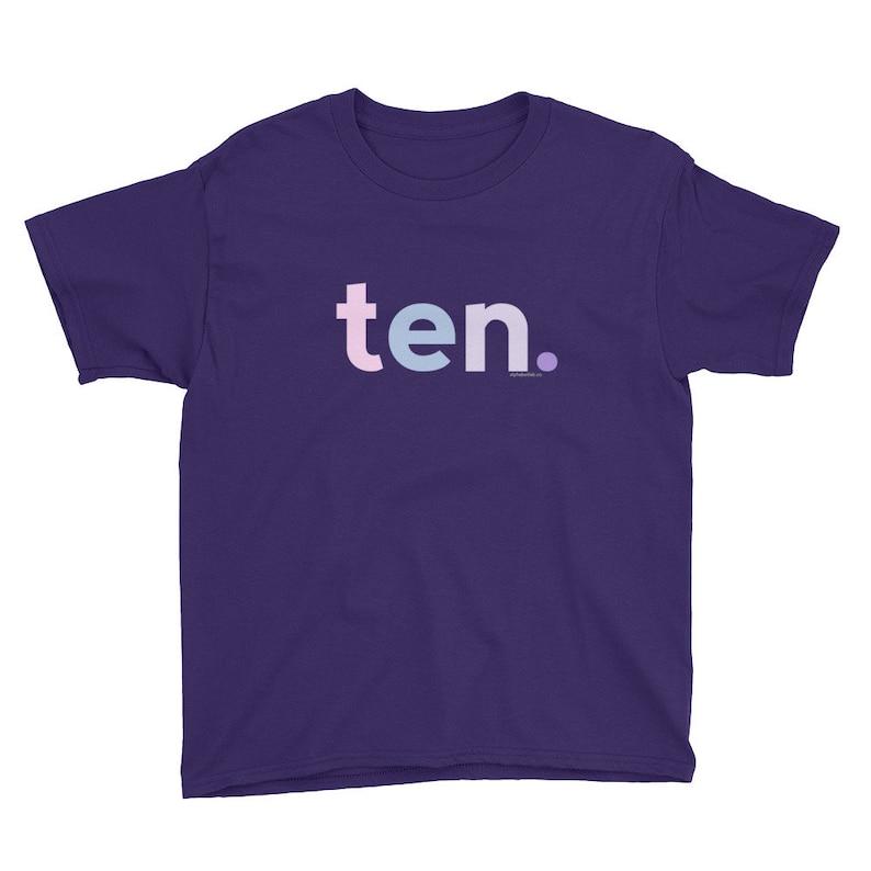 10th Birthday Shirts For Girls 10