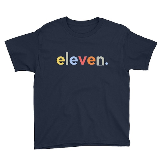 11th Birthday Shirts For Boys 11 Gifts Kids