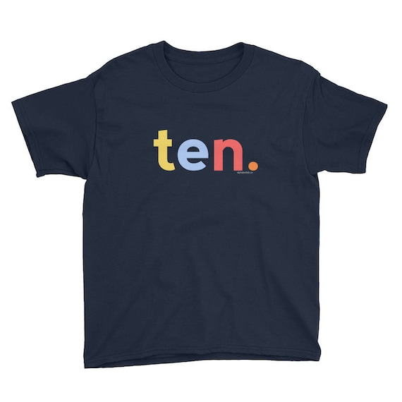 10th Birthday Shirts For Boys 10 Gifts Kids