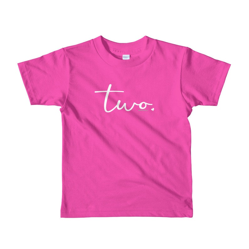 2nd Birthday Shirts For Girls 2 Kids Gift Ideas Age Script