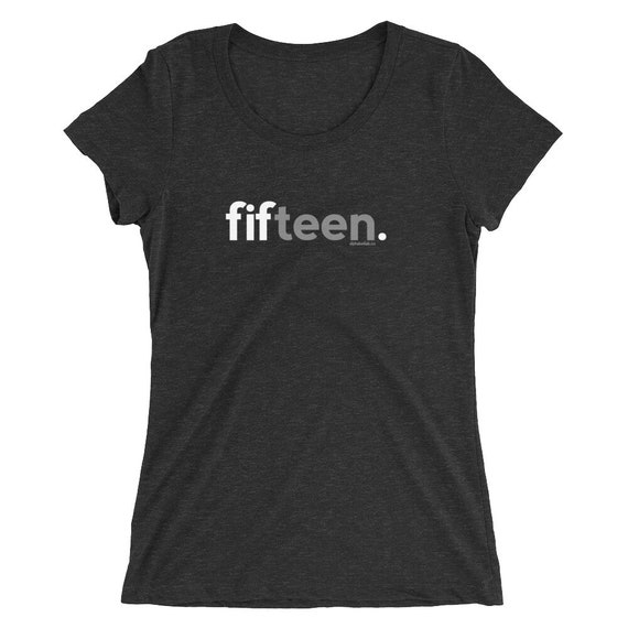 15th Birthday Gifts For Girls Shirt 15 Fifteen