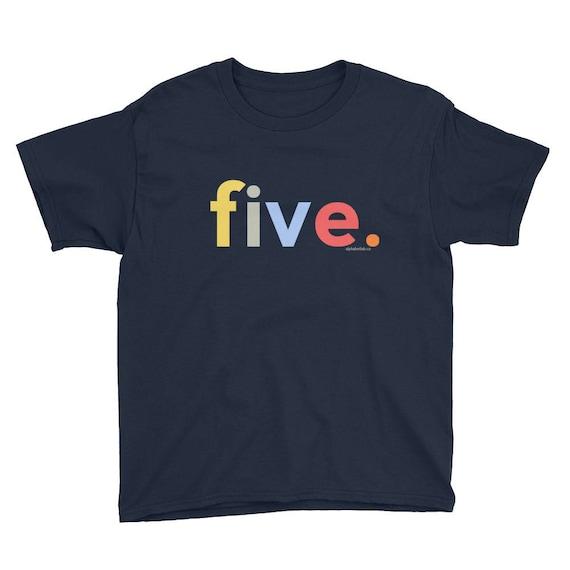 5th Birthday Shirts For Boys 5 5th Birthday Gifts Kids
