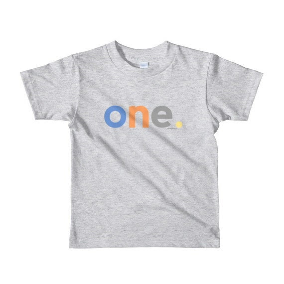 1st Birthday Shirts For Boys 1 Gifts Kids