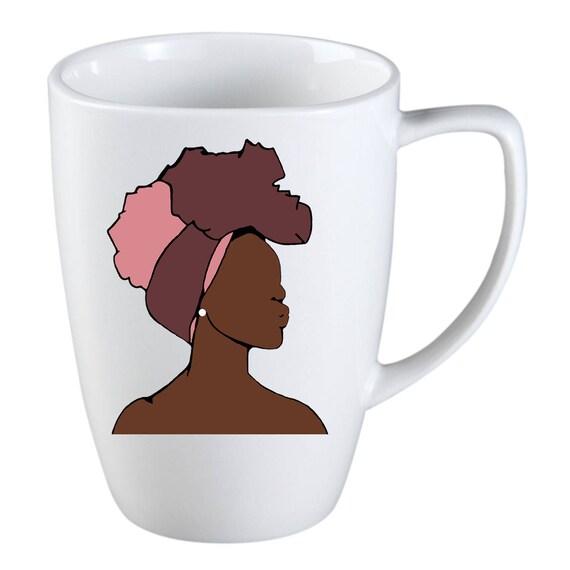 Head Wrap Queen Coffee Mug Birthday Presents Gift Ideas Etsy