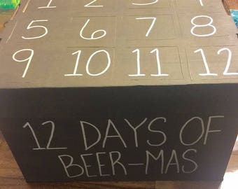 12 Days of Christmas Craft Beer Advent Calendar (beer not included)