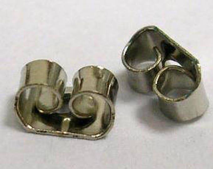 6mm Earring Backs DIY Jewelry Making Findings.