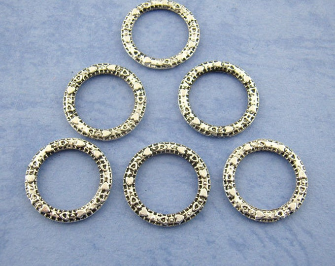 14mm Connector silver DIY Findings for Jewelry Making 10Pcs / 20Pcs.