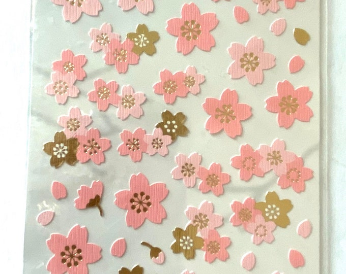 Flower stickers Craft Sticker Sheet for Planning, Journaling, Collecting or Scrap booking 1 Sheet.