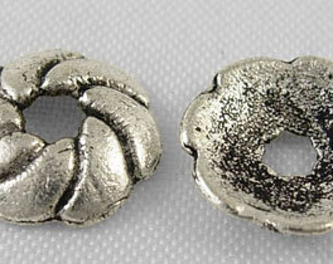 Bead Caps 9mm Flower Bead Caps Hole: 2mm DIY Jewelry Making Findings.