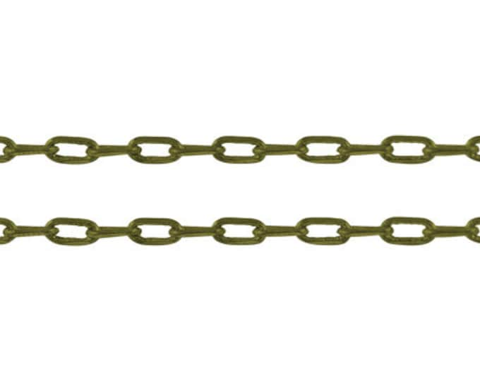 4x2mm Cable Chains Diamond Cut Chains antique bronze Finding  DIY Jewelry Making Supplies Findings